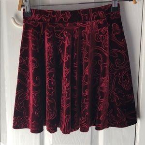 Velvet Holiday Skirt